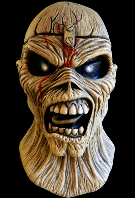 Iron Maiden Piece of Mind Eddie Latex Pullover Mask