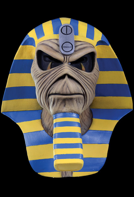 Iron Maiden Powerslave Pharaoh Eddie Latex Pullover Mask