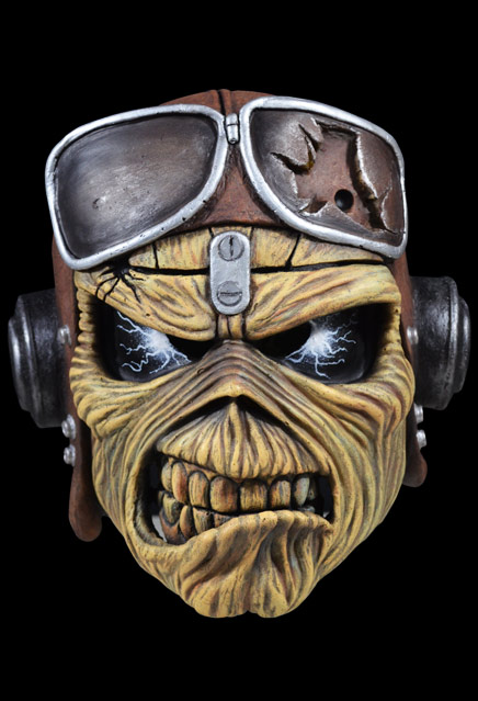 Iron Maiden Aces High Eddie Latex Pullover Mask