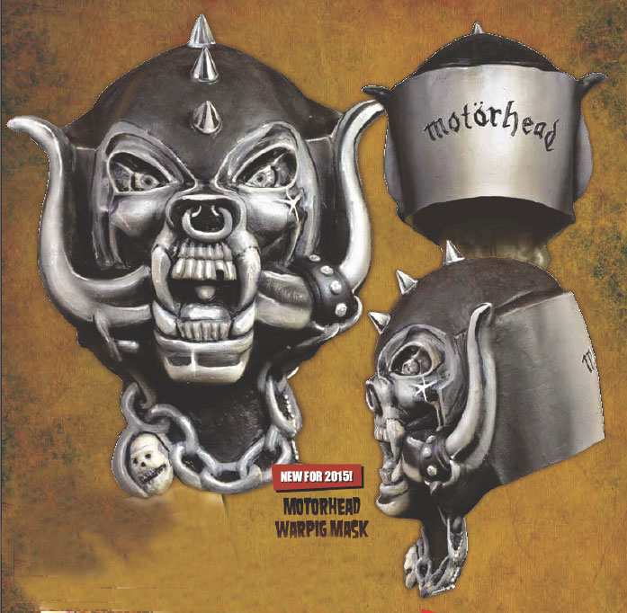Motorhead Warpig Latex Halloween Mask