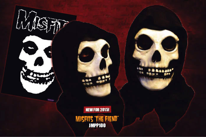Misfits The Fiend Crimson Ghost Latex Halloween Mask Misfits The