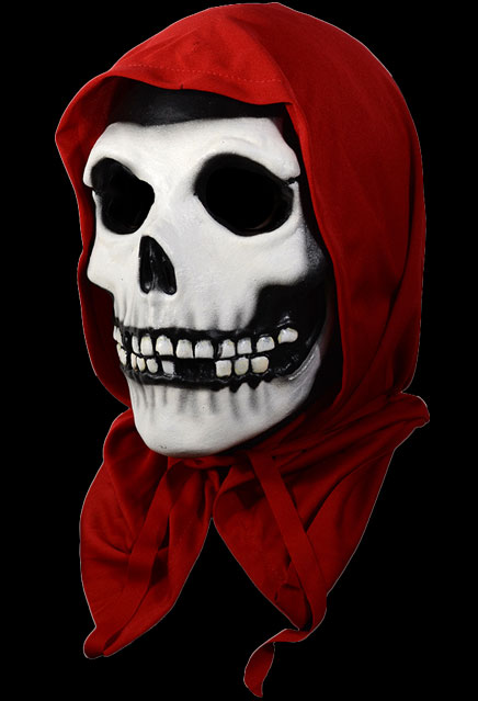 Misfits Red Hood Fiend Crimson Ghost Halloween Mask Misfits Red Hood