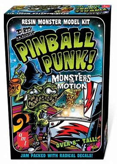 Dirty Donny's Pinball Punk Resin Monster Model Kit