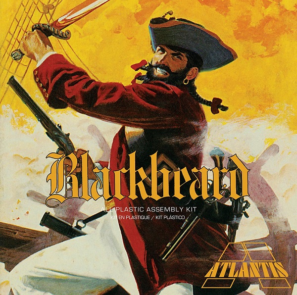Blackbeard the Bloodthirsty Pirate 1/10 Plastic Model Kit Aurora Reissue by Atlantis