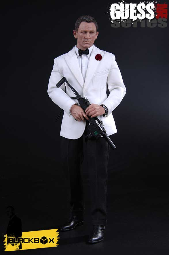 James Guess Me Series White Tuxedo 1/6 Scale Figure by BlackBox