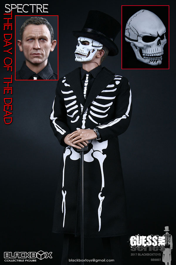 Guess Me Series Spectre Day Of The Dead 1/6 Scale Figure by Black Box