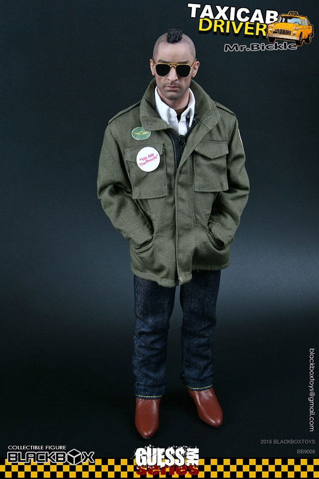 Taxi Driver Mr. Bickle 1/6 Scale Figure by BlackBox Guess Me Series