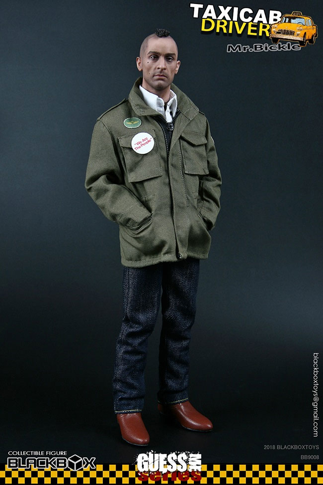 Taxi Driver Mr. Bickle 1/6 Scale Figure by BlackBox Guess Me Series - Click Image to Close