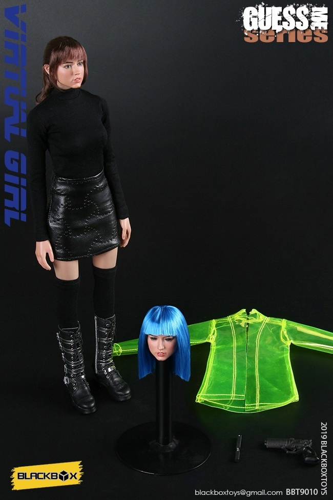 Blade Runner Girl 1/6 Scale Guess Me Figure by Black Box
