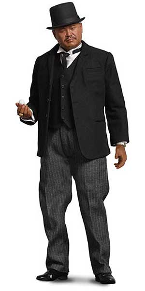James Bond 007 Goldfinger Oddjob 1/6 Scale Figure by Big Chief