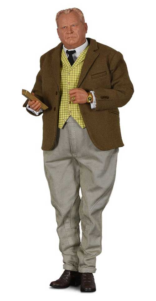 James Bond 007 Goldfinger Auric Goldfinger 1/6 Scale Figure by Big Chief