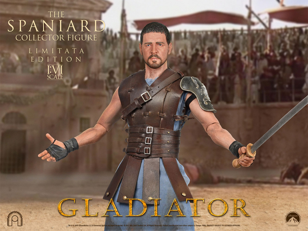 Gladiator The Spaniard Maximus 1/6 Scale Figure by Big Chief