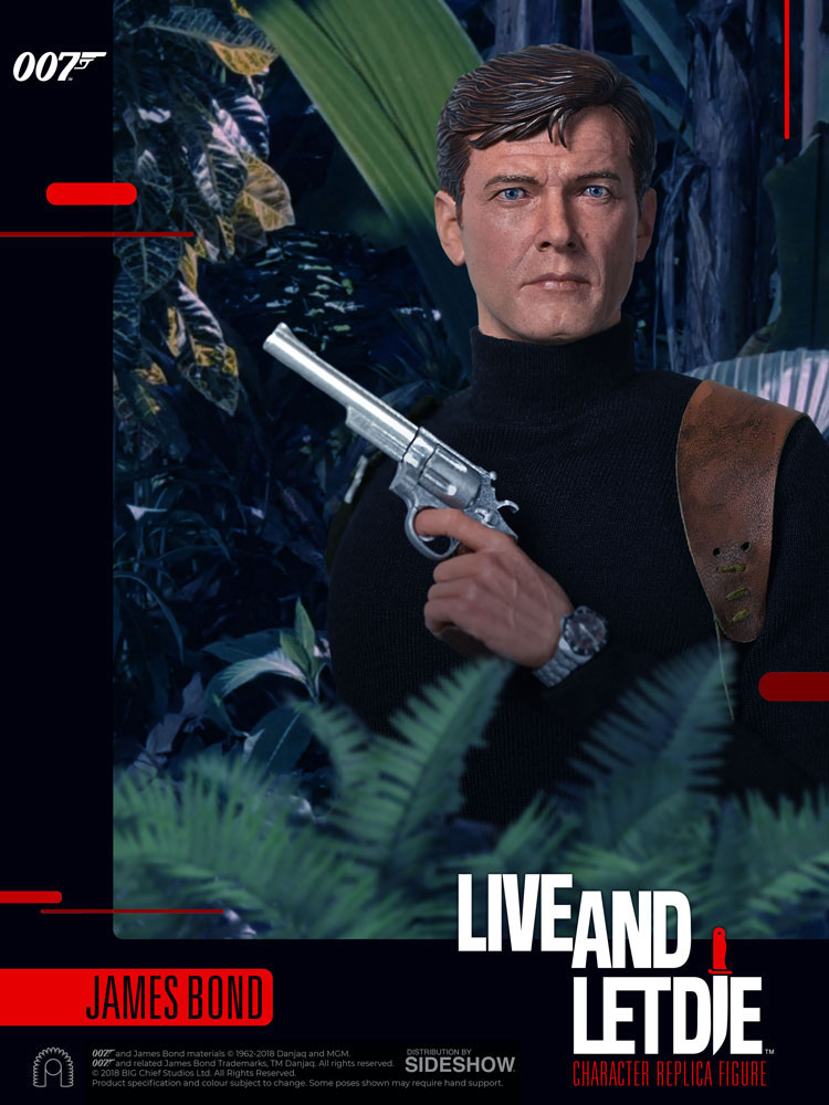 James Bond Live And Let Die Roger Moore 1/6 Scale Figure by Big Chief