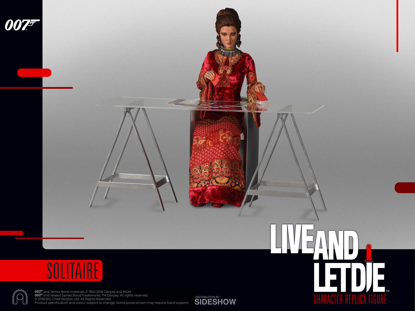James Bond Live And Let Die Solitaire 1/6 Scale Figure by Big Chief