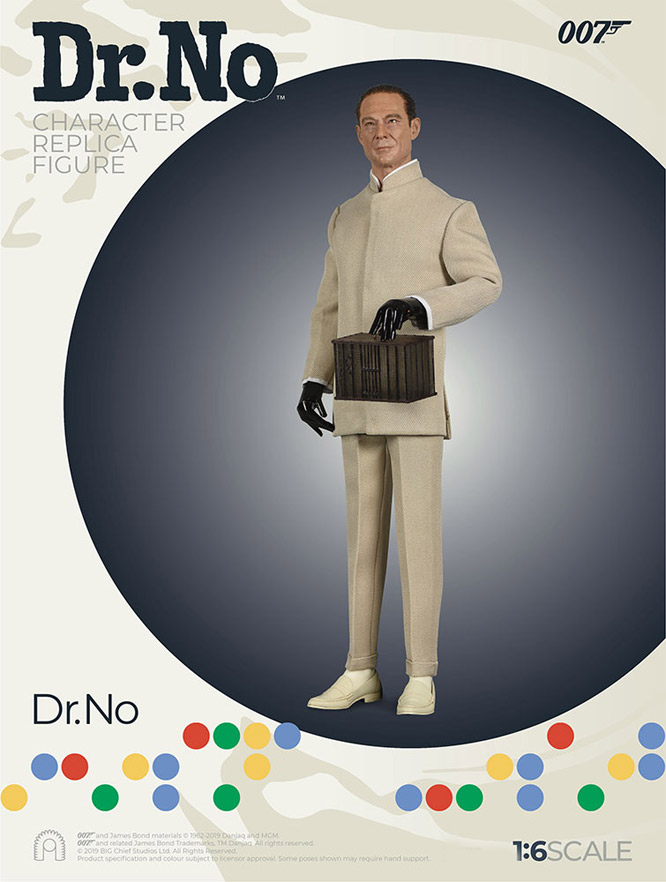 James Bond 007 Dr. No Joseph Wiseman 1/6 Scale Figure by Big Chief