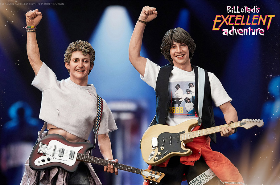Bill & Ted's Excellent Adventure 1/6 Scale Figure Set by Blitzway