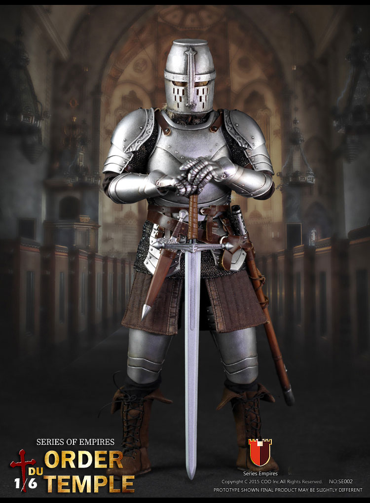 Order Du Temple Knight 1/6 Scale Figure by Coo