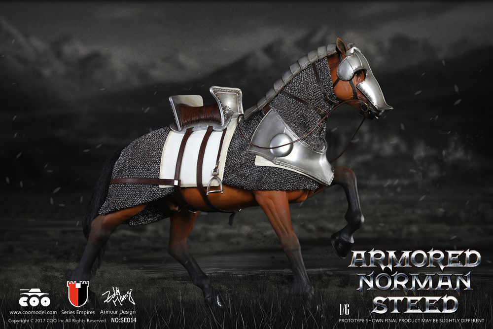 Gothic Knight Armored Steed Horse 1/6 Scale Figure by Coo Model