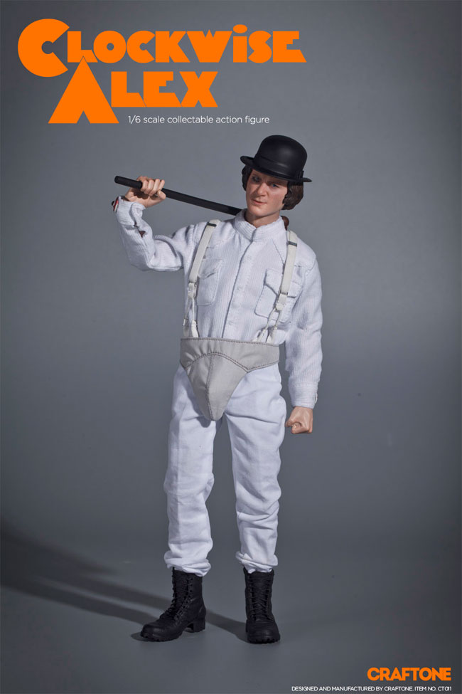Clockwise Alex 1/6 Scale Figure by Craftone