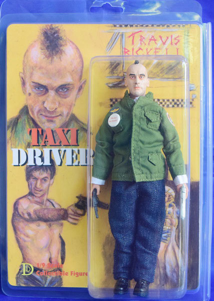 "Taxi Driver Travis Bickle 8"" Retro Mego Style Figure LIMITED EDITION"