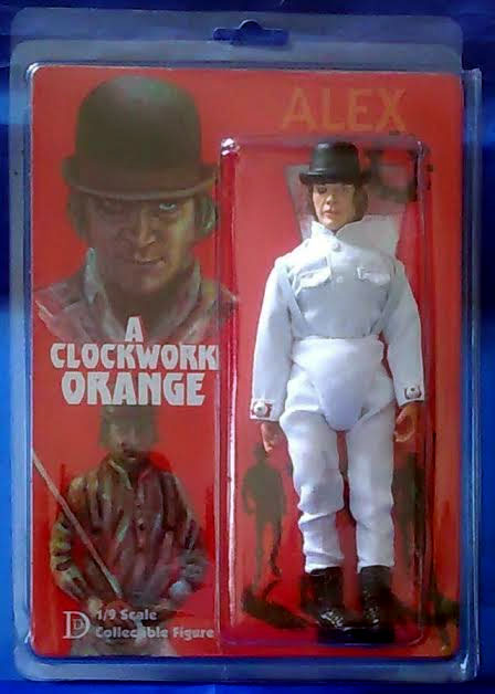 "Clockwork Orange Alex DeLarge 8"" Retro Mego Style Figure LIMITED TO 60"