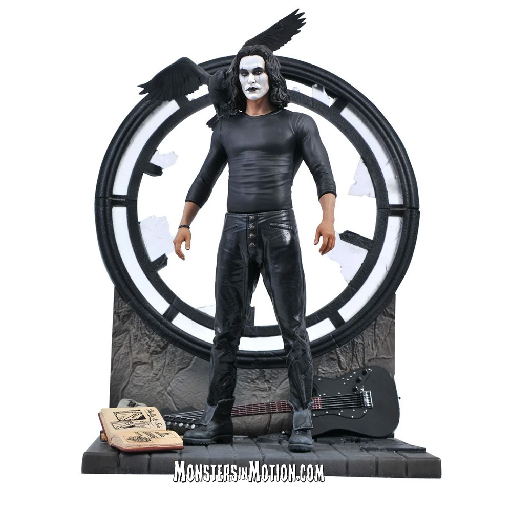 Crow, The 1994 Brandon Lee Movie Gallery Statue