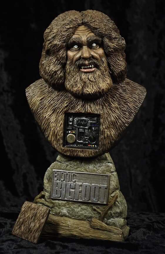 Bionic Bigfoot 1/4 Scale Bust Model Kit