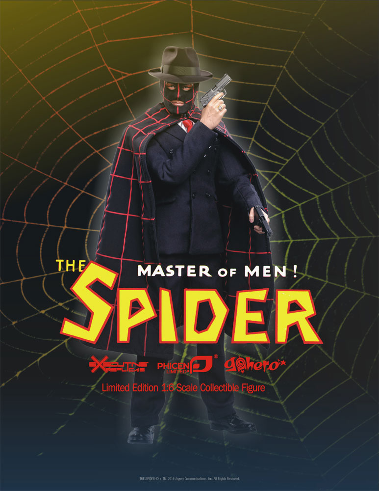 Spider, The Master Of Men 1/6 Scale Figure LIMITED EDITION