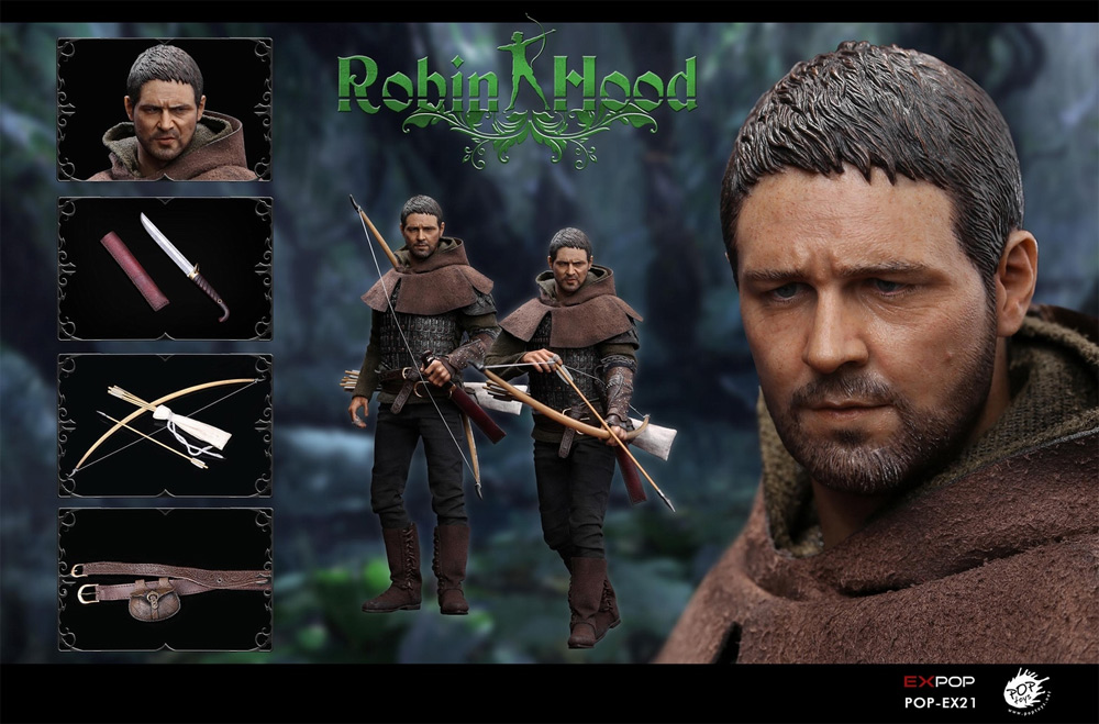 Robin Hood The Chivalrous 1/6 Scale Figure by EX Pop Toys