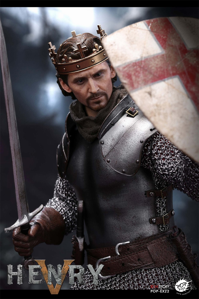 Robin Hood King Henry V of England 1/6 Scale Figure by EX POP Toys