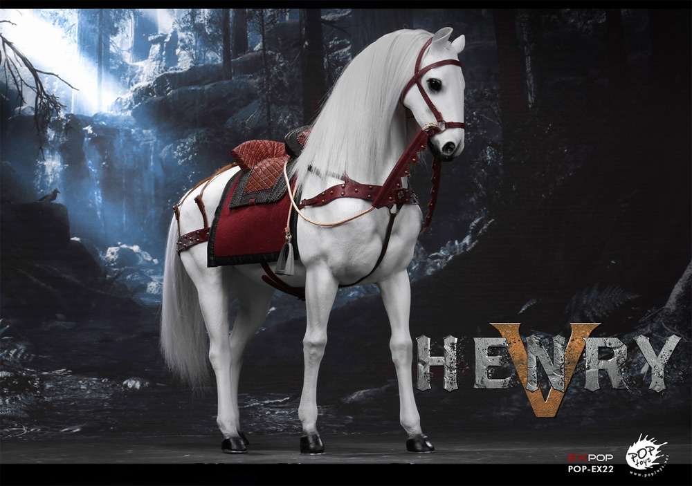 Robin Hood King Henry V War Horse 1/6 Scale Figure by EX POP Toys