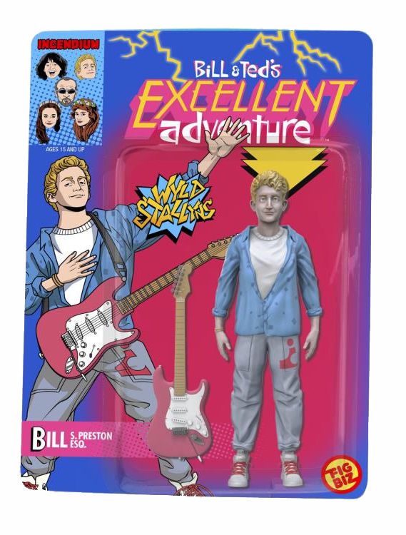 "Bill & Ted`s Excellent Adventure Bill S. Preston Esquire 5"" Action Figure"