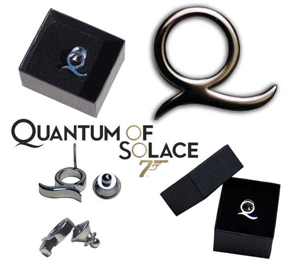 James Bond 007 Q Pin Limited Edition Prop Replica