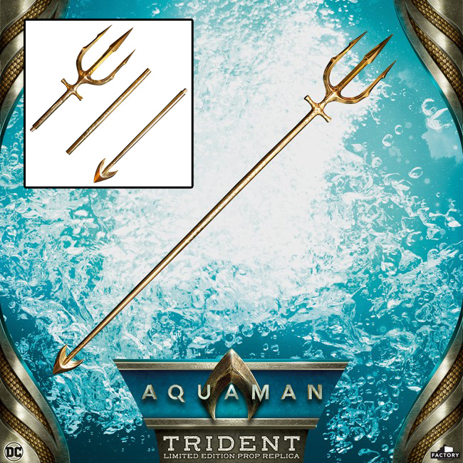 Aquaman 2018 Hero Trident Limited Edition Prop Replica