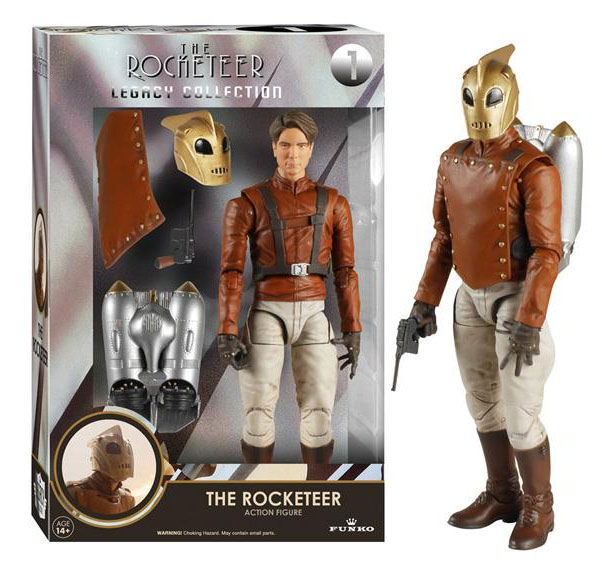 "Rocketeer Legacy Collection 6"" Deluxe Action Figure Billy Campbell"