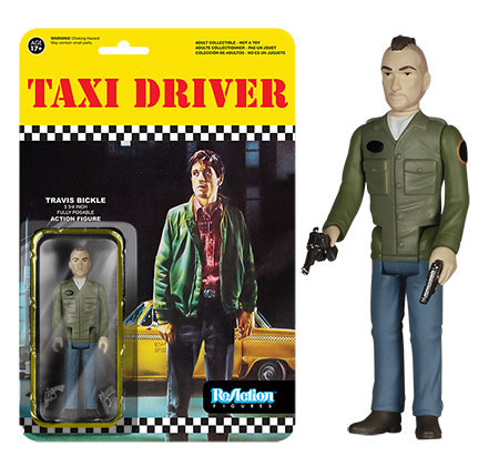 "Taxi Driver Travis Bickle 3 3/4"" Retro Kenner Style ReAction Action Figure"