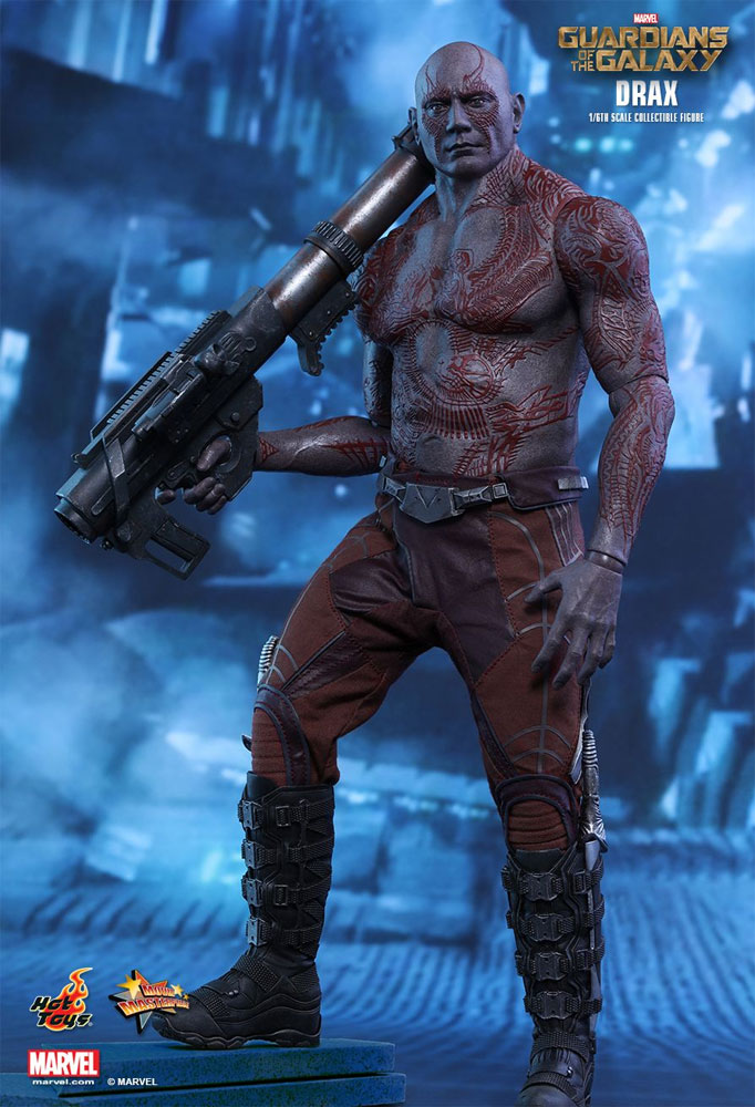 Guardians of the Galaxy Drax The Destroyer 1/6 Scale Figure by Hot Toys