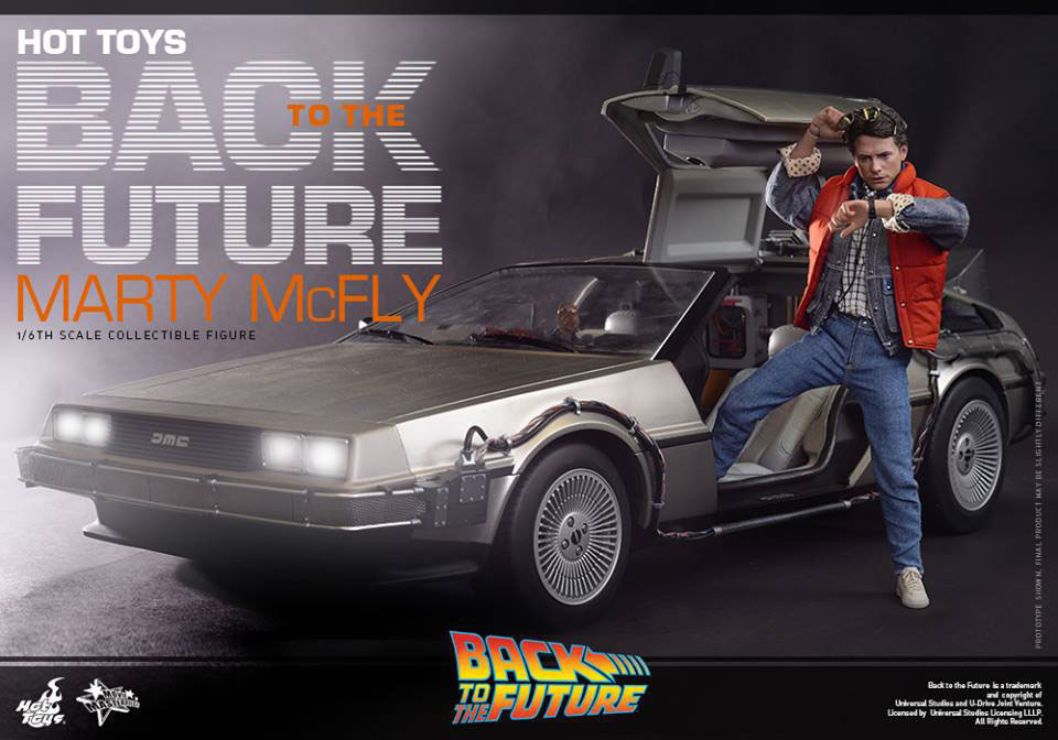 Back to The Future Marty Mcfly 1/6 Scale Move Masterpiece Figure