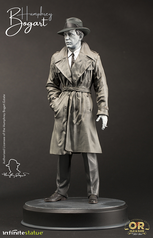 Humphrey Bogart Limited Edition Statue by Infinite