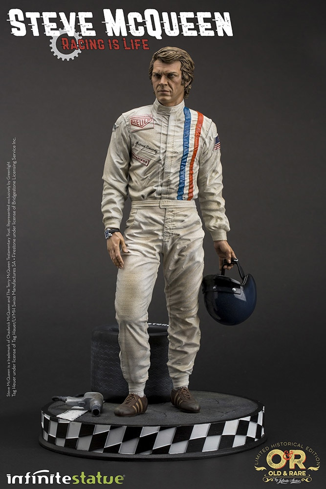 Steve McQueen Racing is Life 1/6 Scale Statue by Infinite Statue