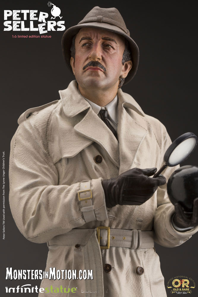 Pink Panther Inspector Clouseau Peter Sellers 1/6 Scale LIMITED EDITION Statue