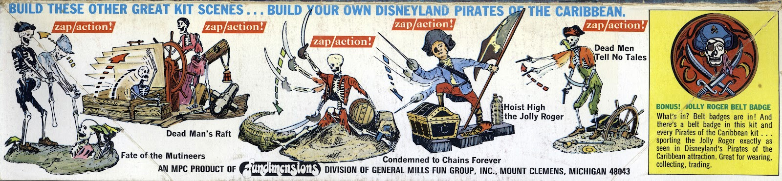 Jolly Roger Series Dismay Be the End Model Kit by Lindberg - Click Image to Close