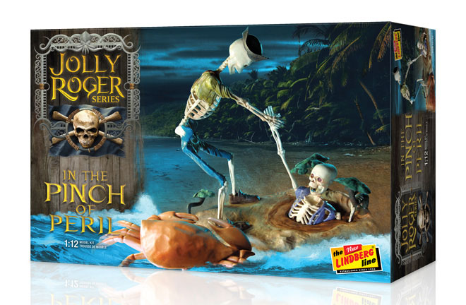 Jolly Roger Series In The Pinch Of Peril Model Kit by Lindberg