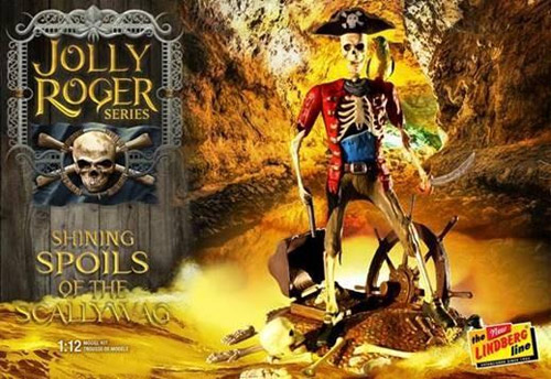 Jolly Roger Series Shining Spoils of the Scallywag Model Kit by Lindberg