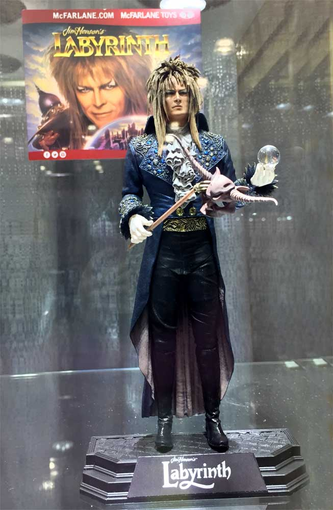 Labyrinth Jareth David Bowie Action Figure by McFarlane Toys