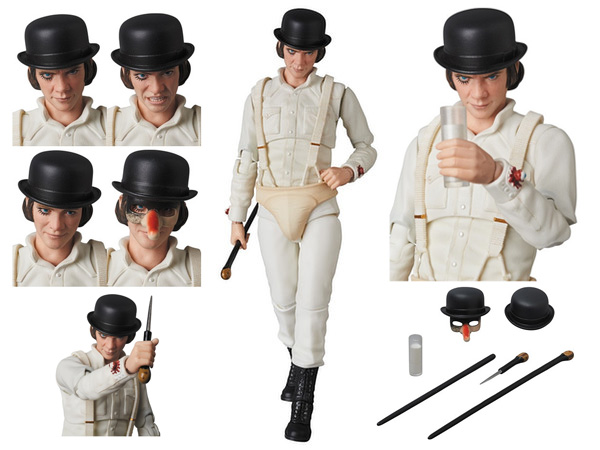 Clockwork Orange Alex DeLarge Medicom MAFEX Action Figure