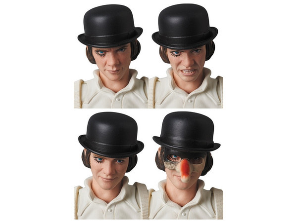 Clockwork Orange Alex DeLarge Medicom MAFEX Action Figure - Click Image to Close
