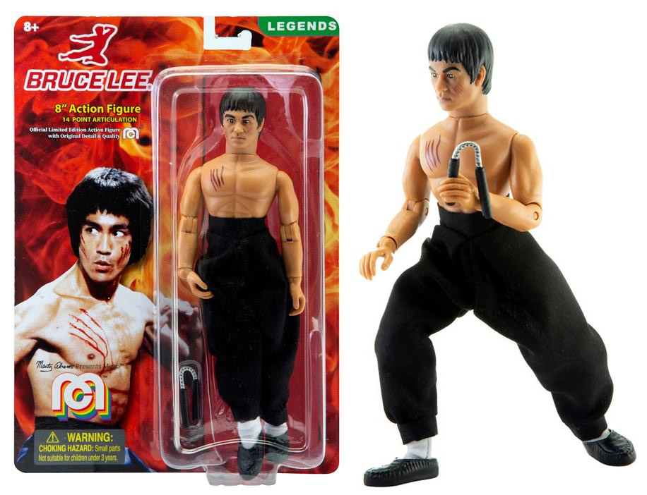 "Bruce Lee 8"" Action Figure by Mego"