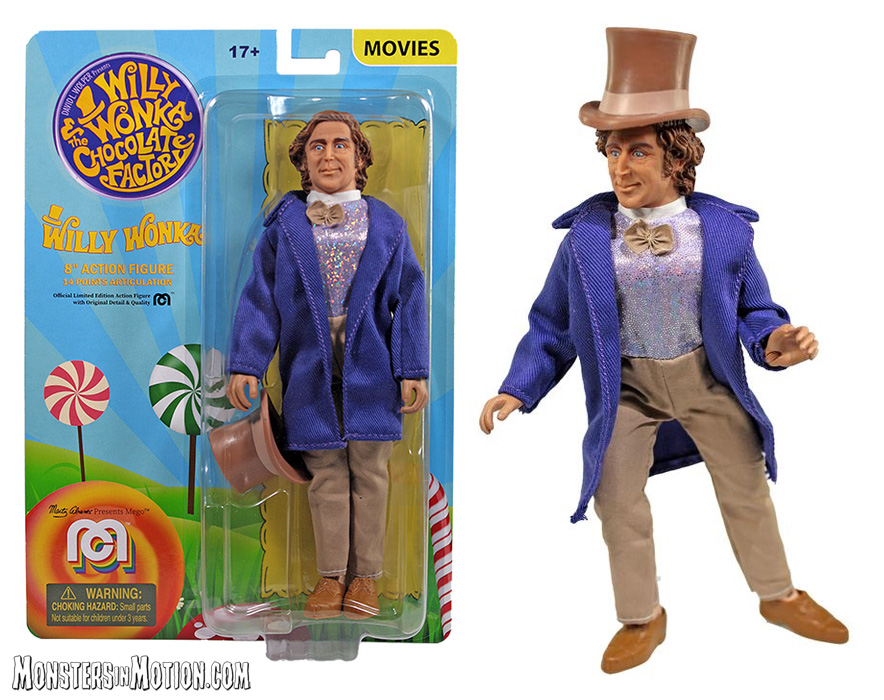 Willy Wonka 8 Inch Mego Figure
