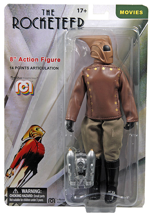 "Rocketeer Disney 8"" Mego Action Figure"